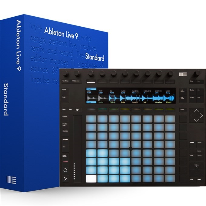 Ableton PUSH 2 + ABLETON LIVE 9