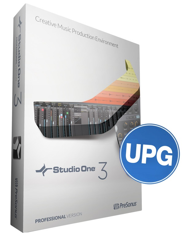 PreSonus Studio One 3 Pro Upgrade 1
