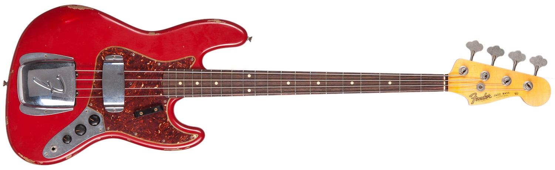 Fender 64 Jazz Bass Relic DR RW