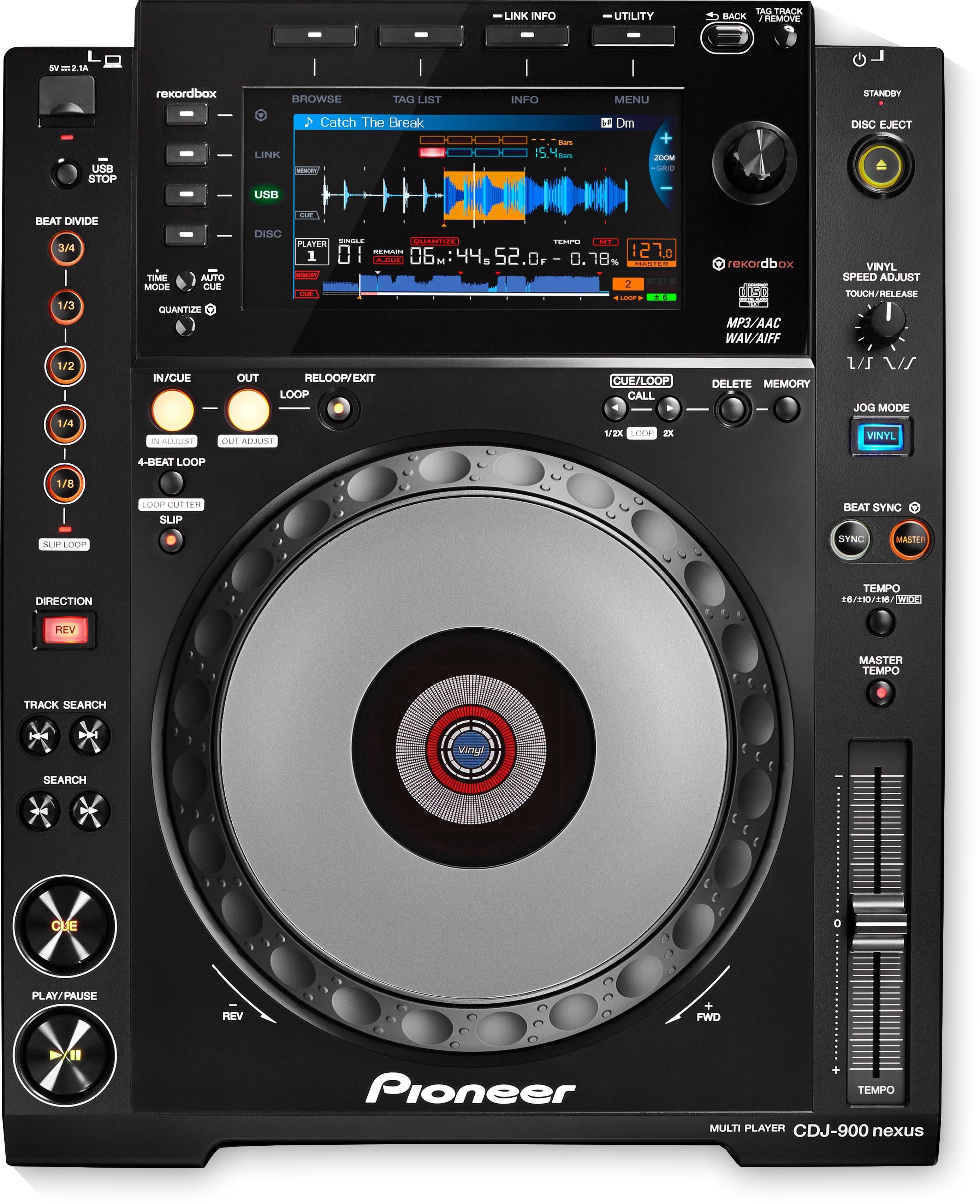 Pioneer DJ CDJ-900-NXS