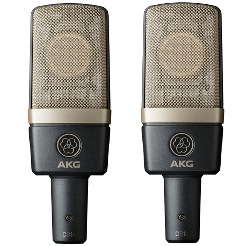 Fotografie AKG C314 matched pair