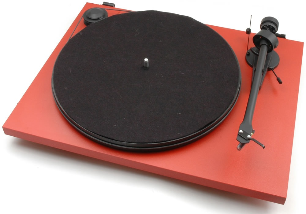 Pro-Ject ESSENTIAL II + OM 5E - RD