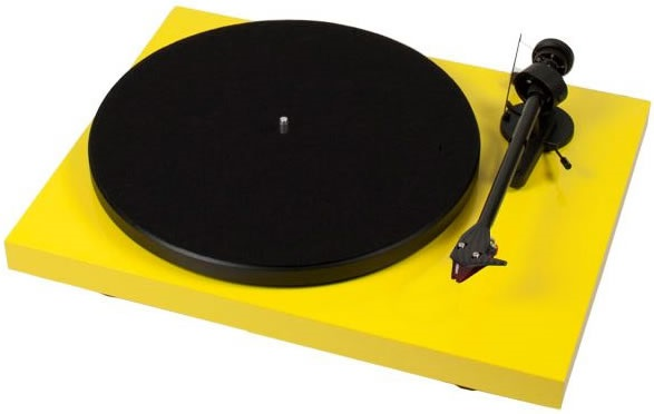 Pro-Ject DEBUT CARBON DC + 2M Red - YEL