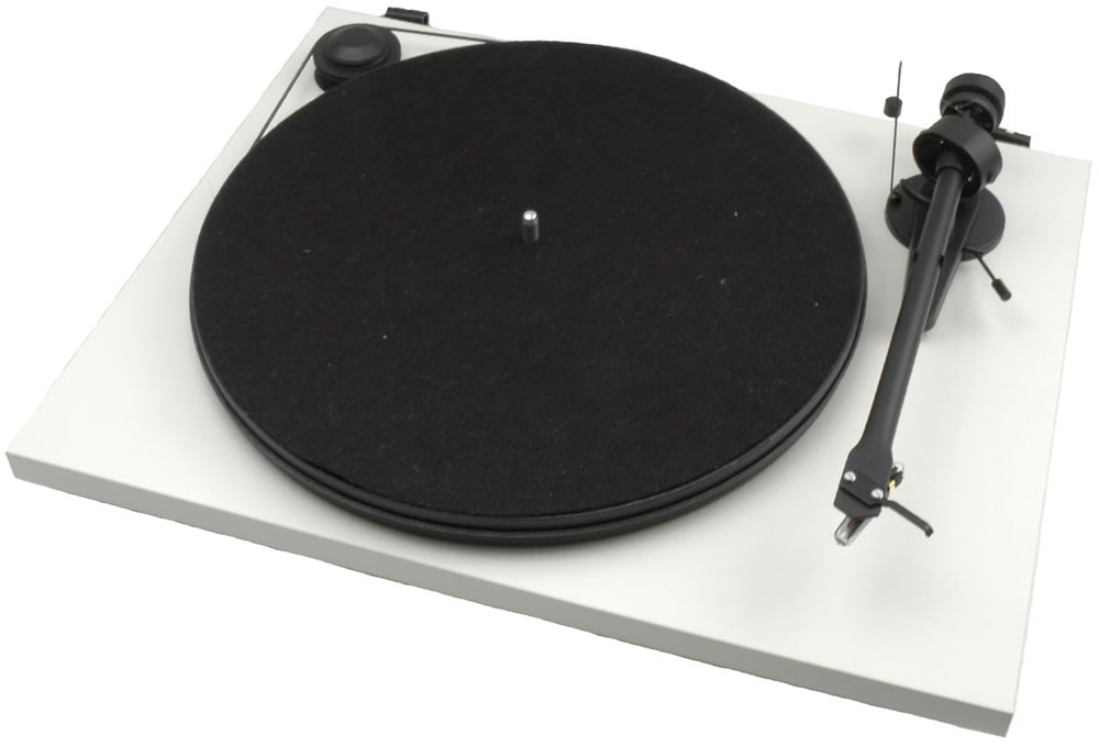 Pro-Ject ESSENTIAL II + OM 5E - WH