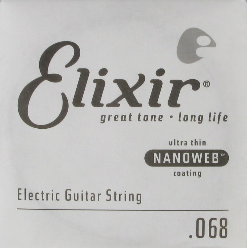 """Elixir Nanoweb Single .068"""""""