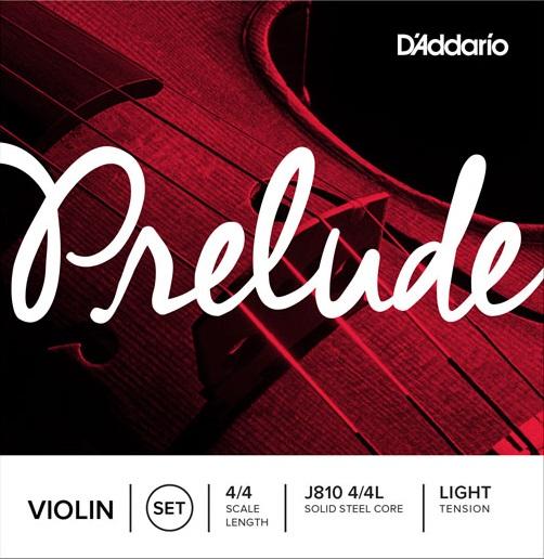 D'Addario Prelude J810 Vln 4/4 L