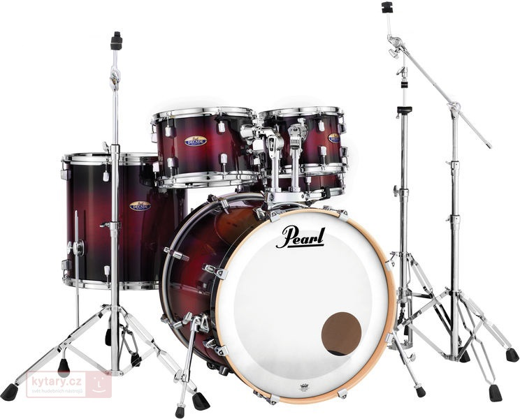 Pearl Decade DMP Gloss Deep Red Burst Rock Set