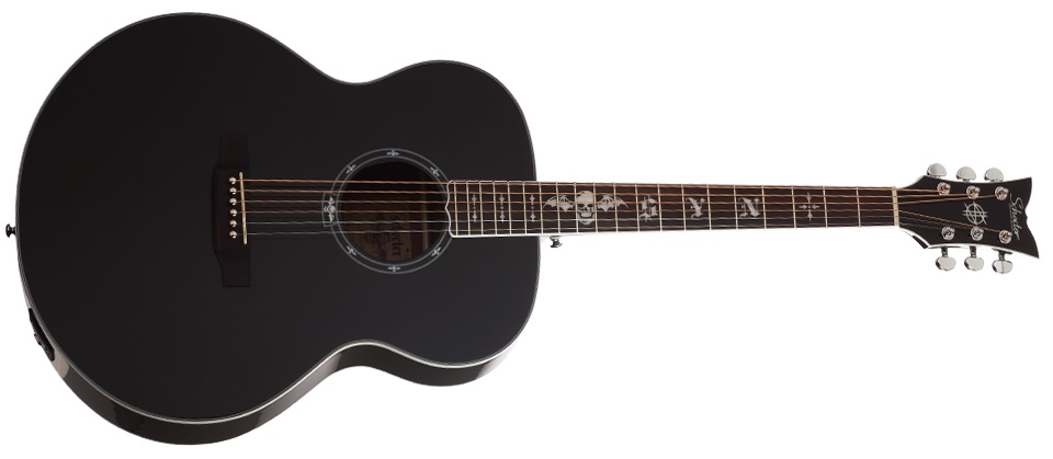 Schecter Synyster Gates-J-Acoustic BLK
