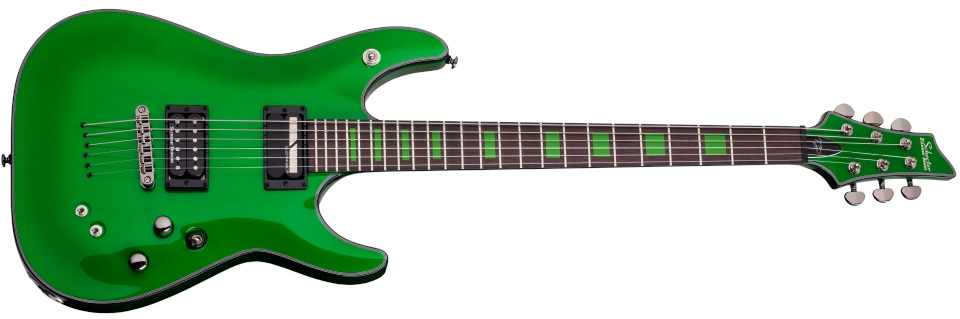 Schecter Kenny Hickey Green