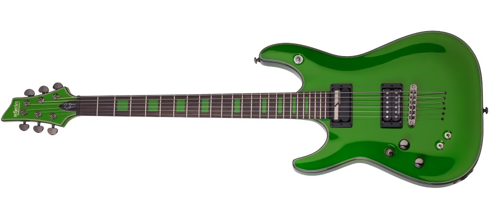Schecter Kenny Hickey Green LH
