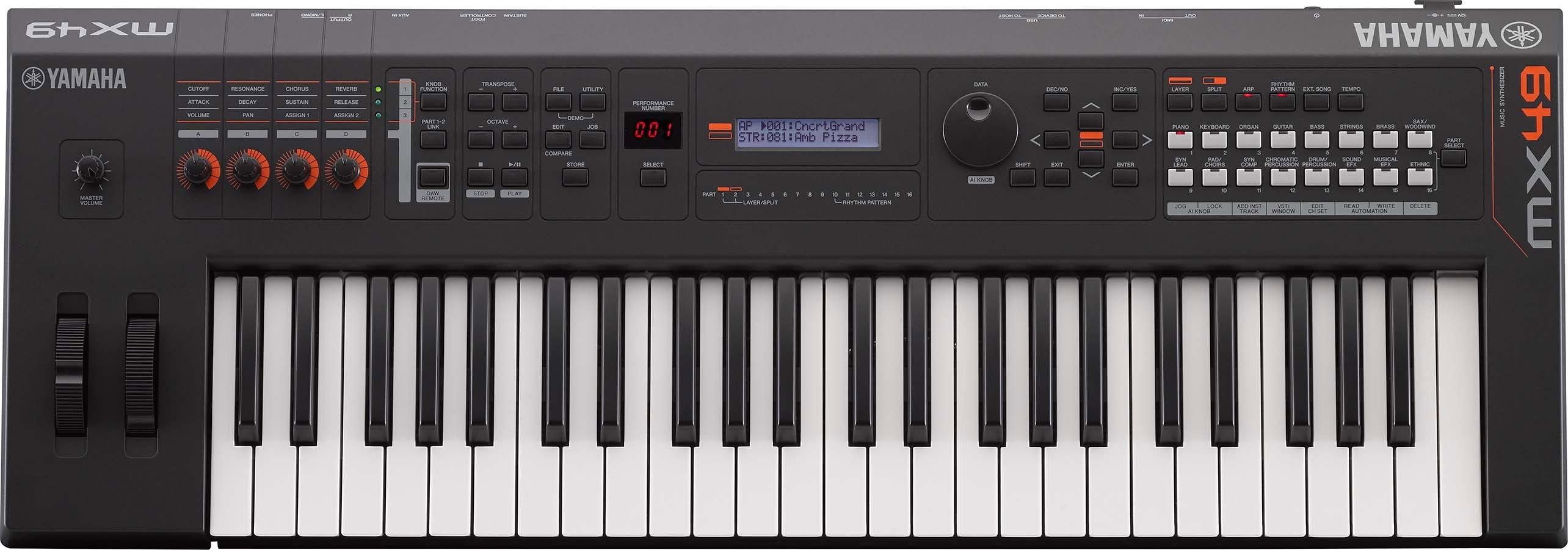 Yamaha MX 49 V2 BK