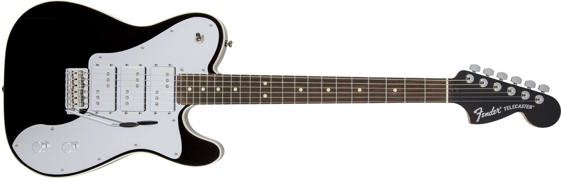 Fender ARTIST J5 Triple Tele Deluxe RW BK