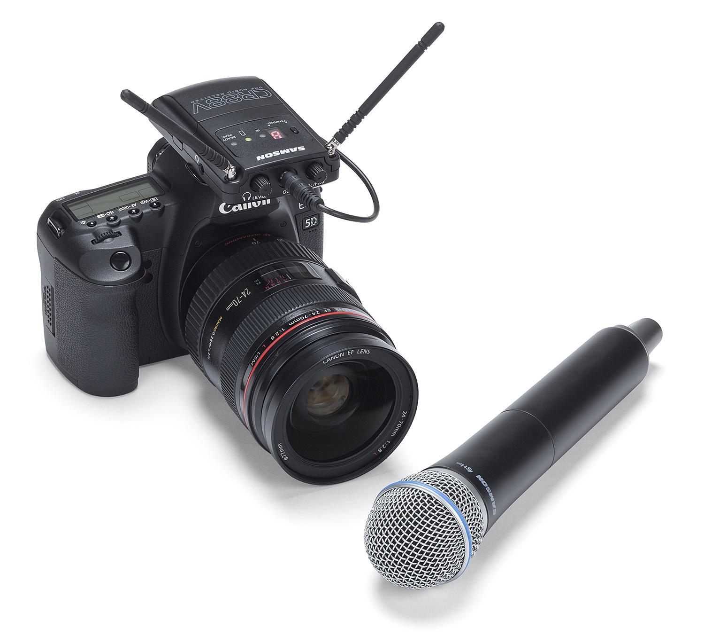 Samson Concert 88 Camera Handheld