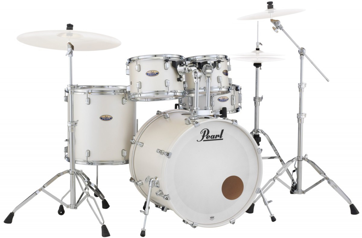 Pearl DMP Decade White Satin Pearl Studio Set