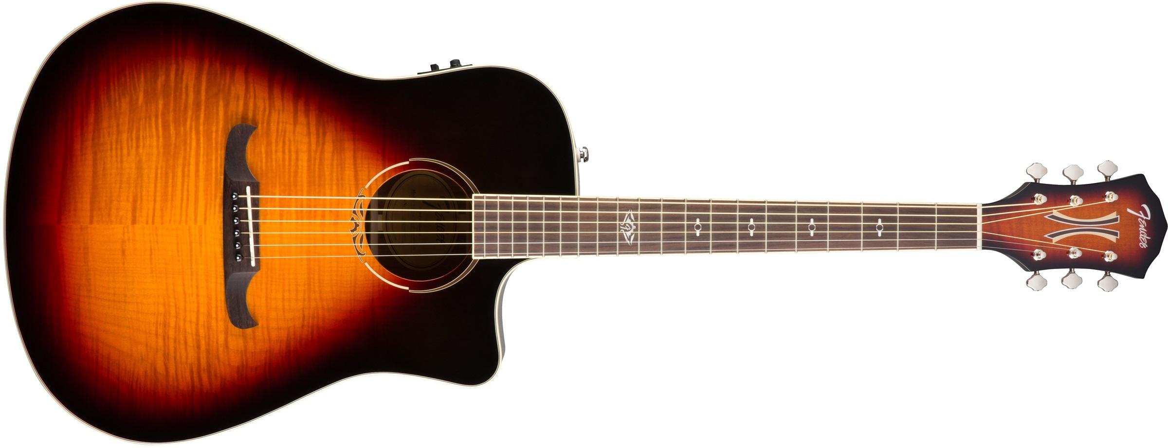 Fender T-Bucket 300CE FLM MPL 3TS