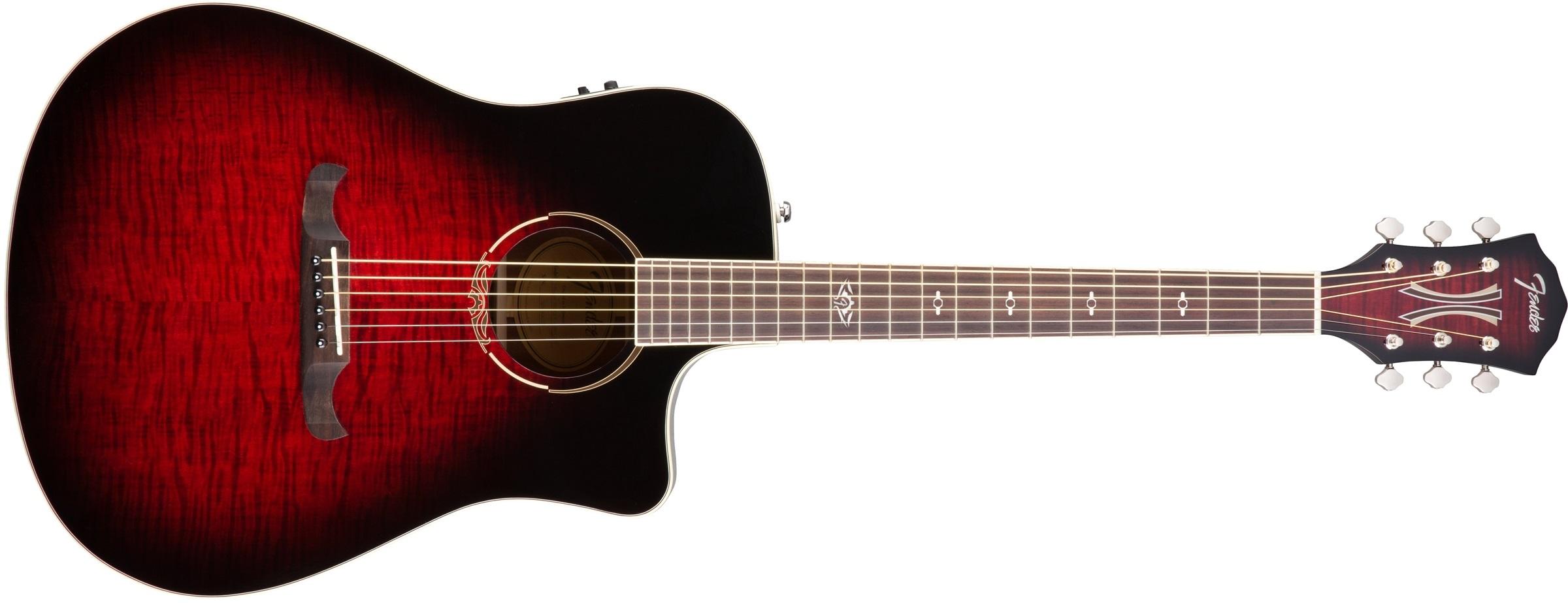 Fender T-Bucket 300CE FLM MPL TCS