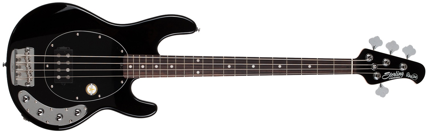 Sterling by Music Man RAY34 Black