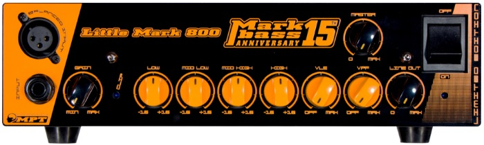 Markbass Little Mark 800 15th Anniversary