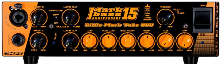 Markbass Little Mark Tube 800 15th Anniversary