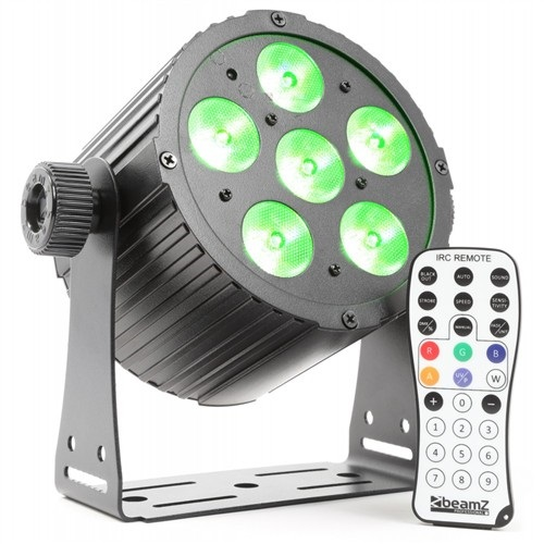 BeamZ LED FlatPAR 6x18W HCL