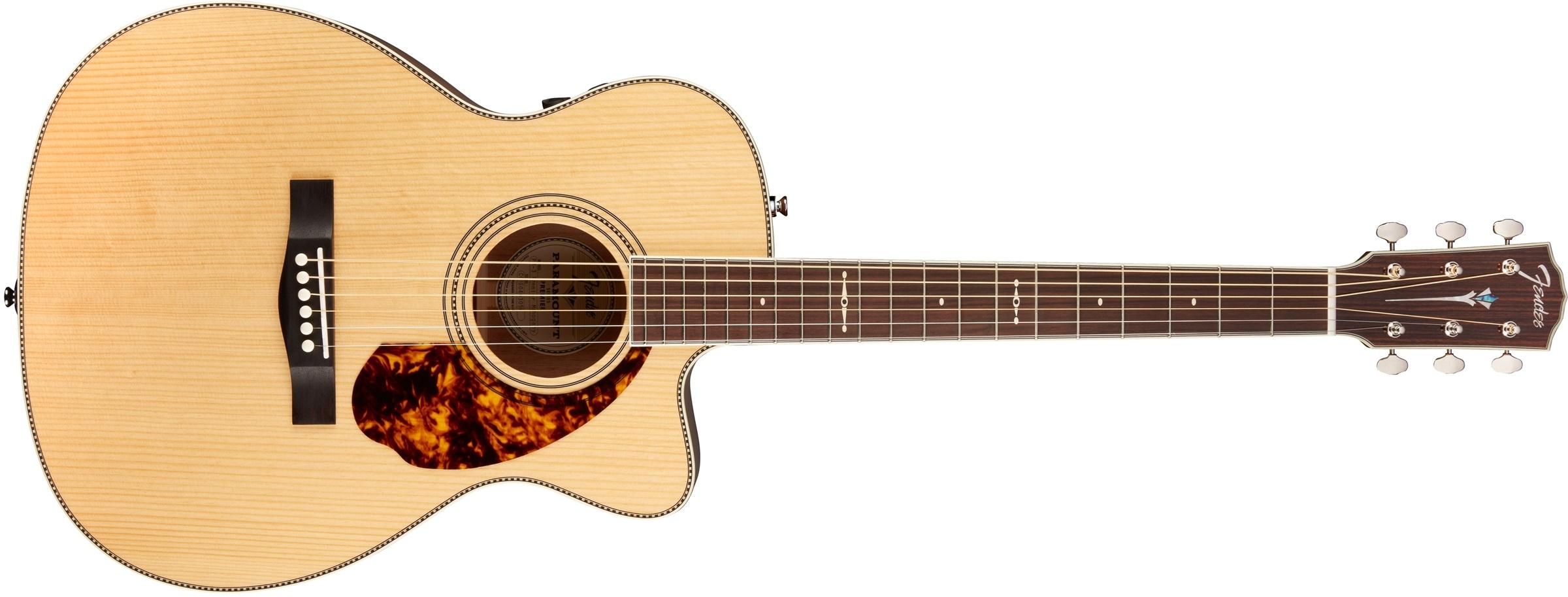 Fender PM-3 Limited Adirondack Mahogany NAT