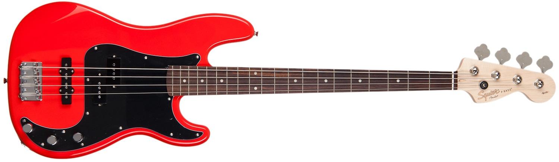 Fender Squier Affinity Series Precision Bass PJ BWB PG RCR