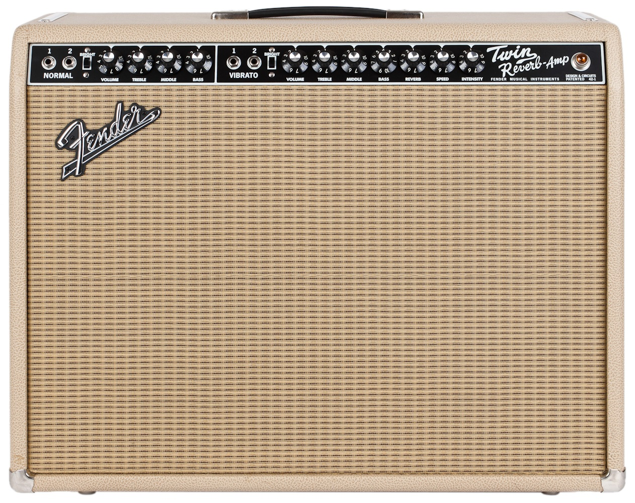 Fender 65 Twin Reverb British Tan