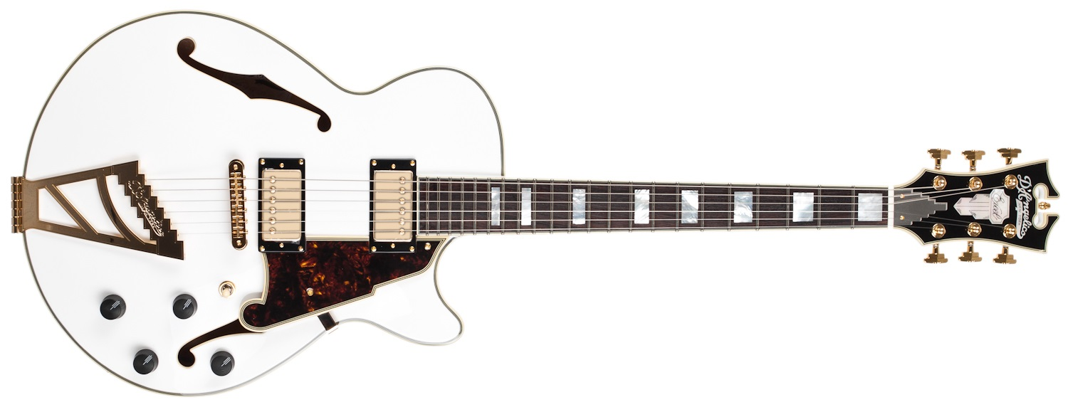 D'Angelico EX-SS WH