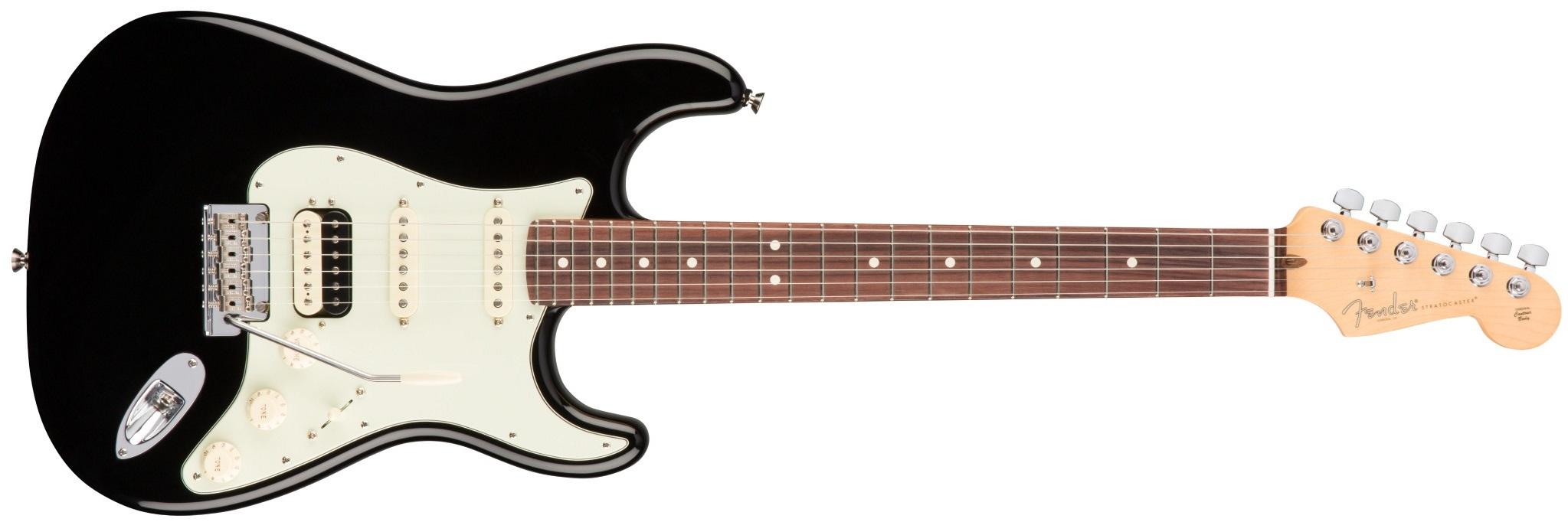Fender American Pro Stratocaster HSS Shawbuckers RW BK