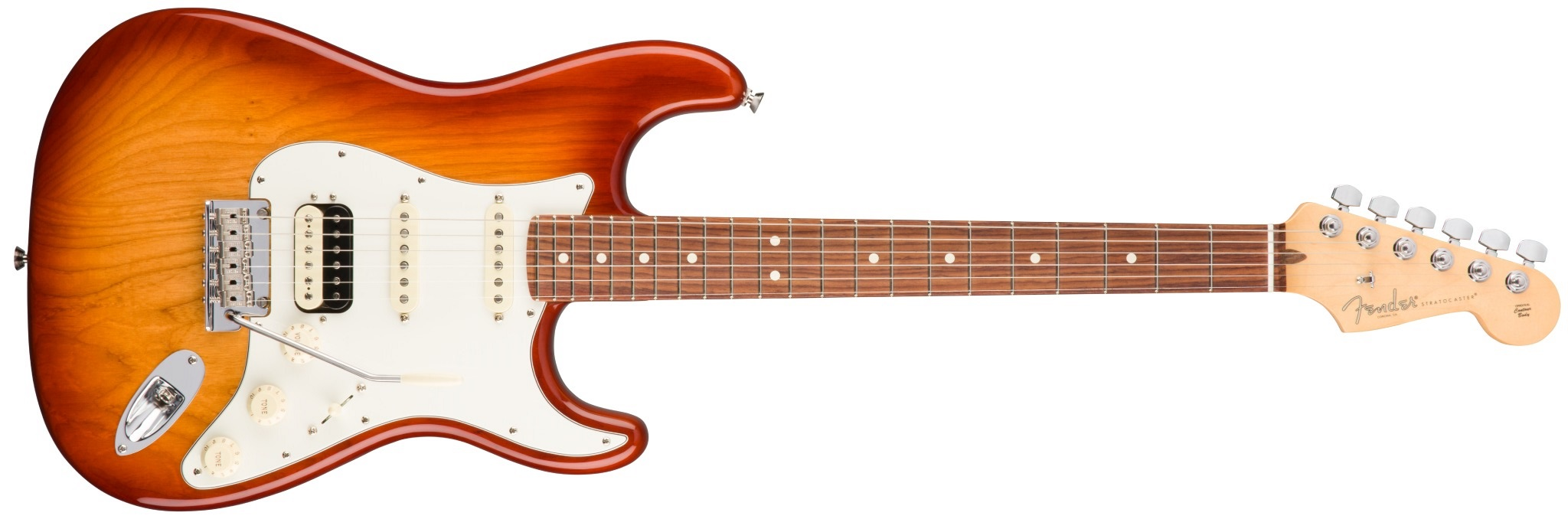 Fender American Pro Stratocaster HSS Shawbuckers RW SSB ASH