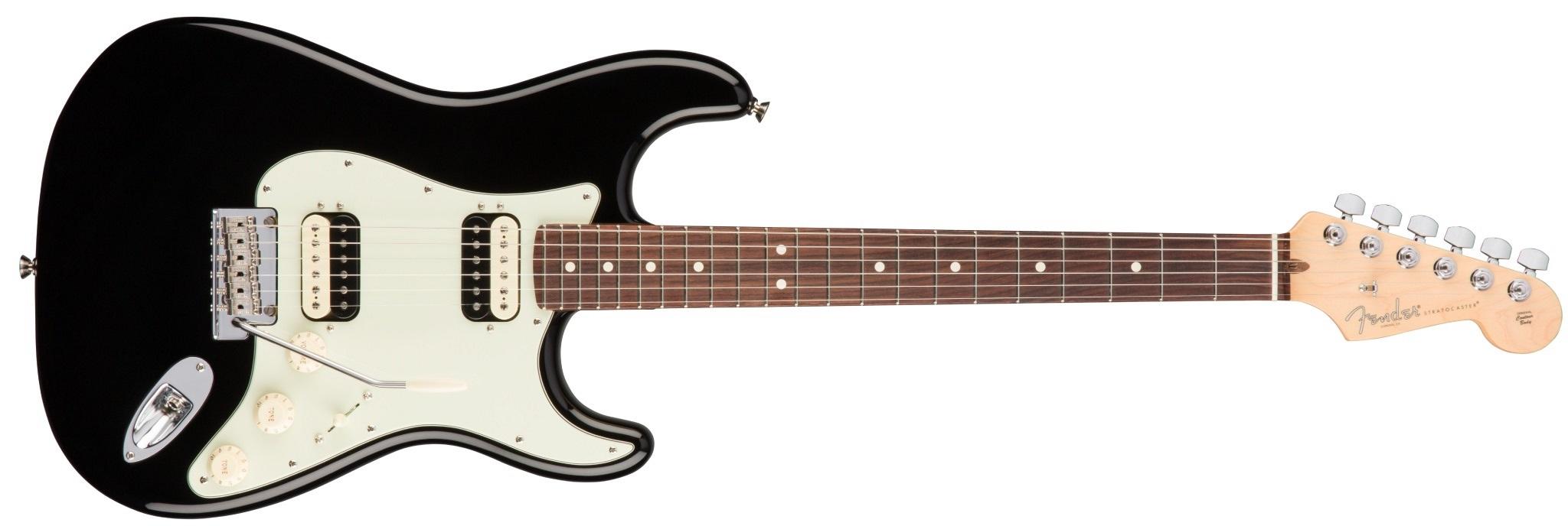 Fender American Pro Stratocaster HH Shawbuckers RW BK