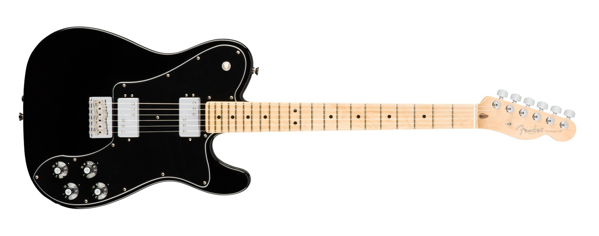 Fender American Pro Telecaster DLX Shawbuckers MN BLK