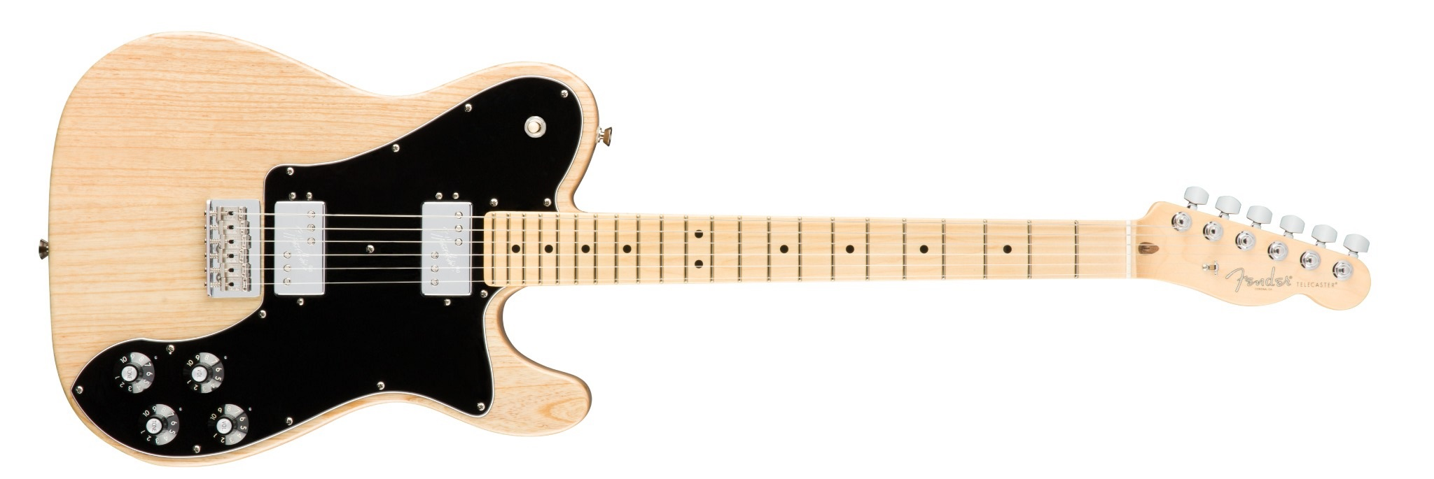 Fender American Pro Telecaster DLX Shawbuckers MN NAT ASH