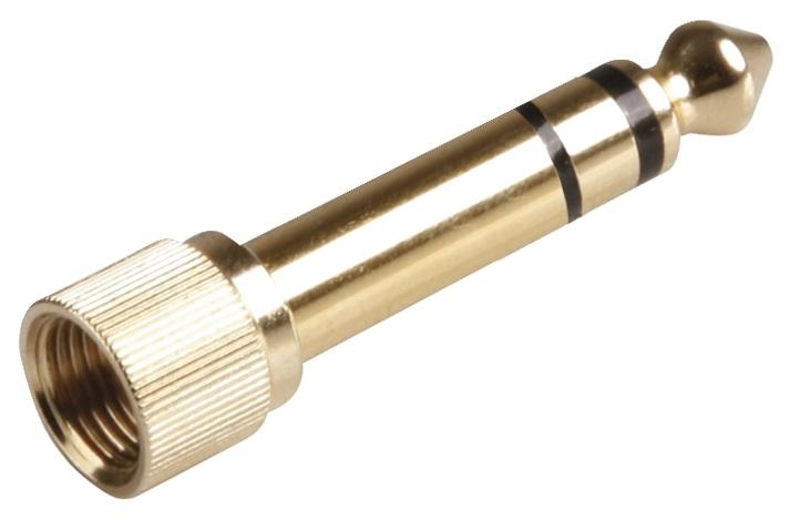 Reloop Adaptor stereo mini jack F / stereo jack
