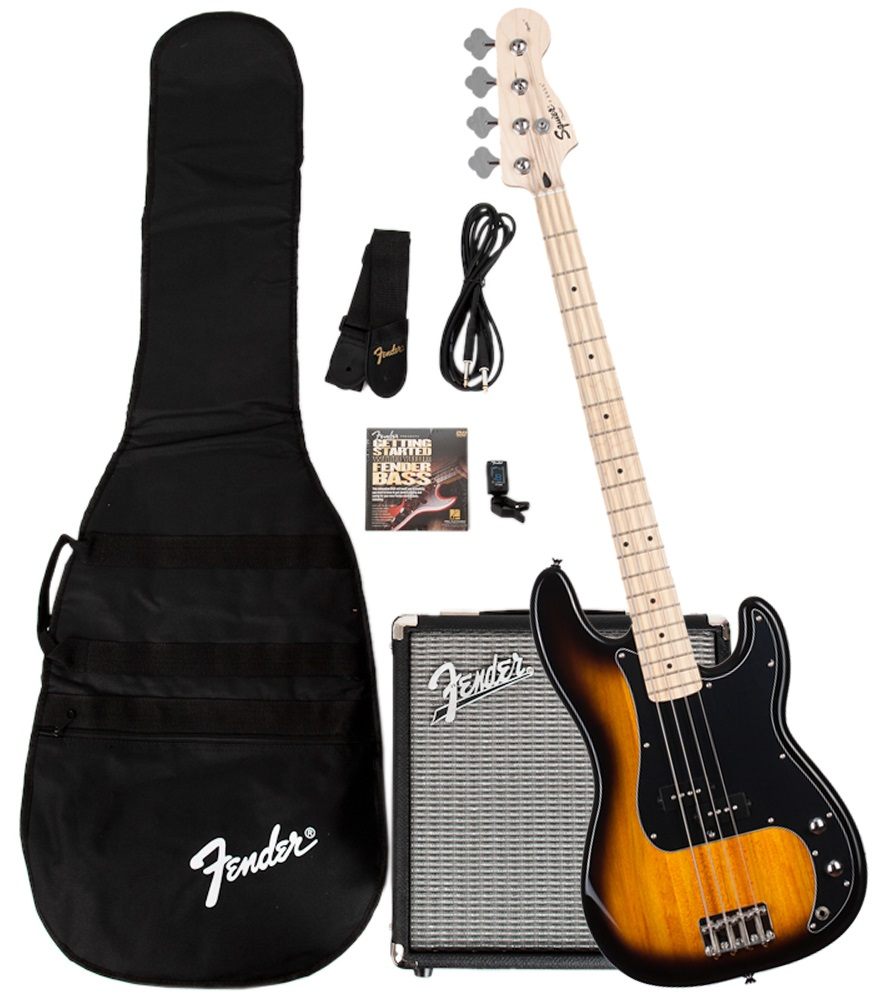 Fender Stop Dreaming, Start Playing!™ Set: Affinity Series™ Precision Bass® with Fender® Rumble™ 15