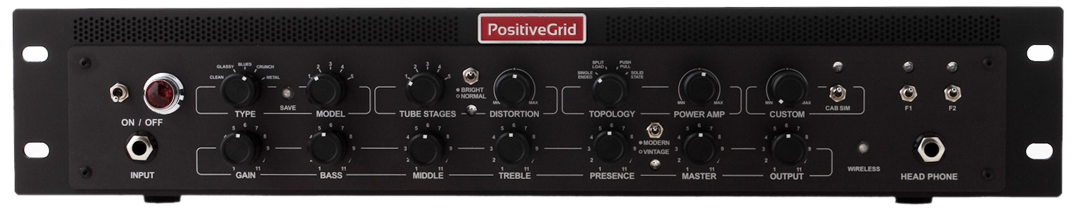 Positive Grid Bias Rack Processor