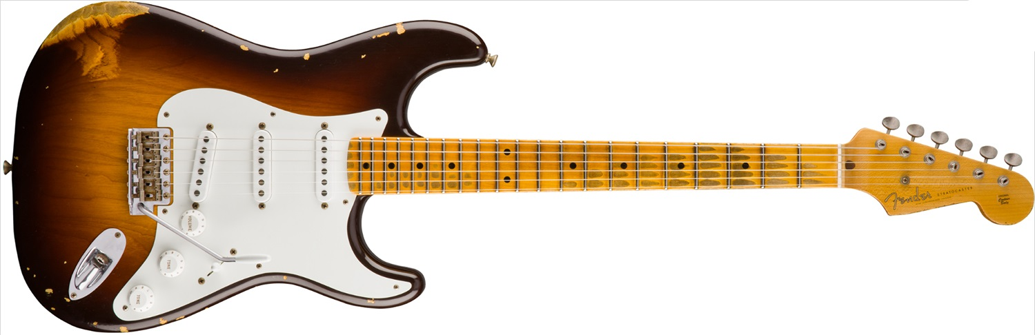 Fender 1955 Stratocaster Heavy Relic MN WFC2CSB