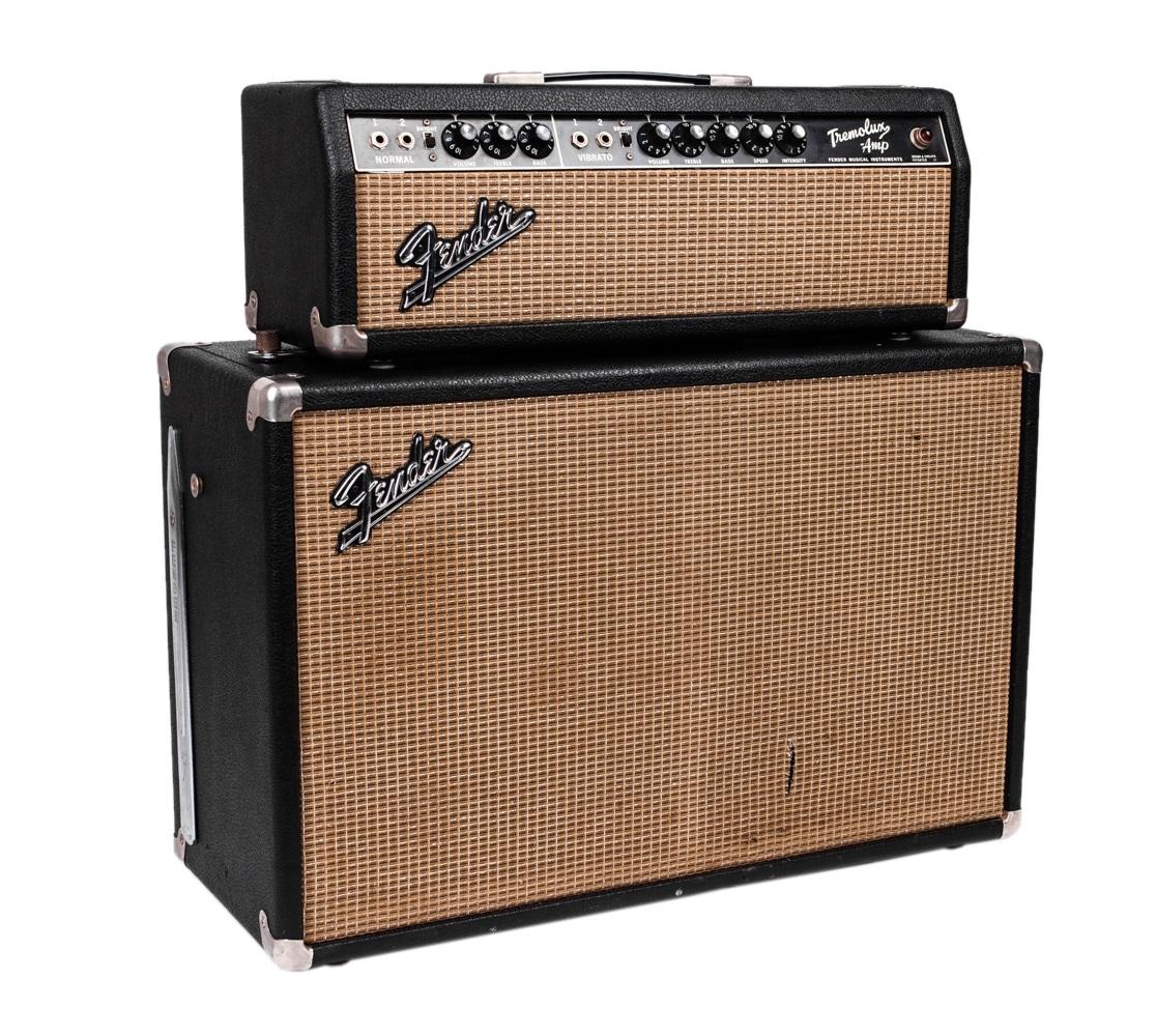 "Fender 1966 Tremolux Piggyback ""Blackface"""
