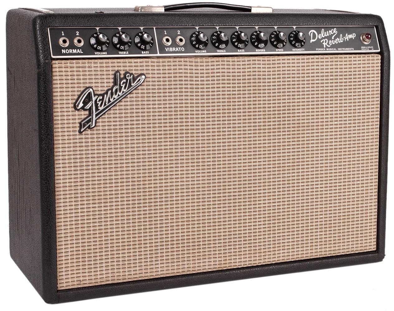 "Fender 1967 Deluxe Reverb ""Blackface"" 22 W"