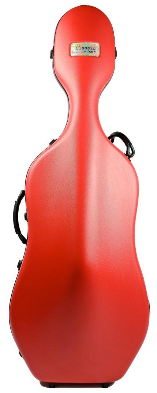 Bam Cello Case 1001 SW Red