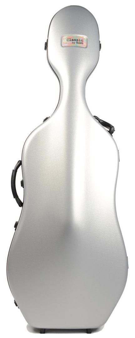 Bam Cello Case 1001 SW Silver