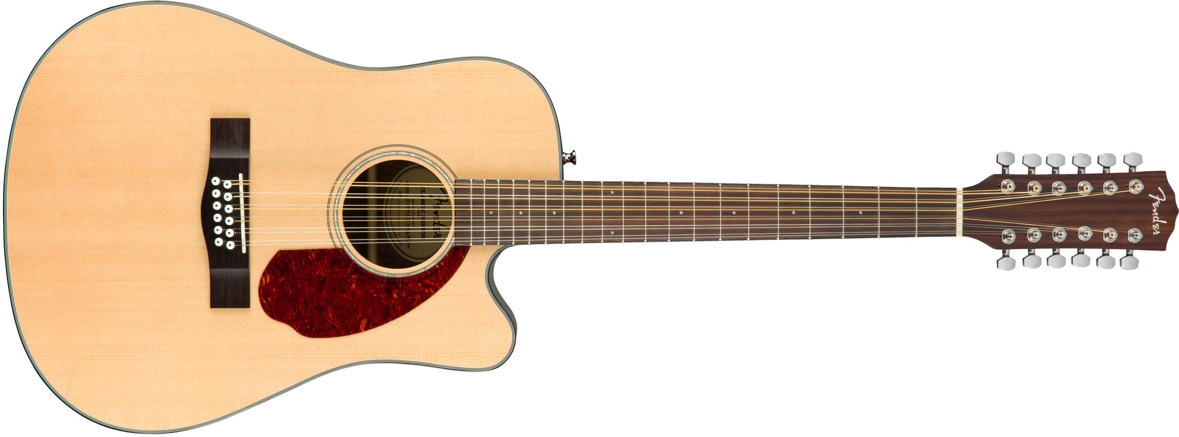 Fender CD-140SCE-12 NAT WC