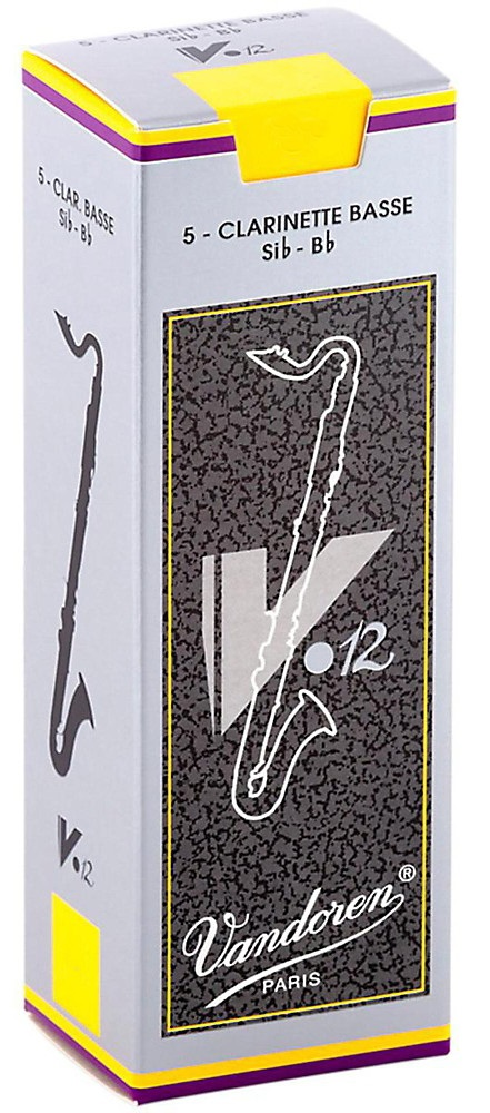 Vandoren BASS Clarinet V.12 2.5 - box