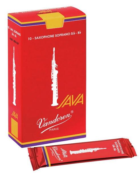 Vandoren Soprano Sax Java Red 3 - box