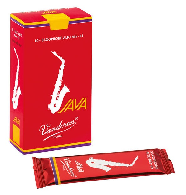 Vandoren Alt Saxofon Java Red 2 - box