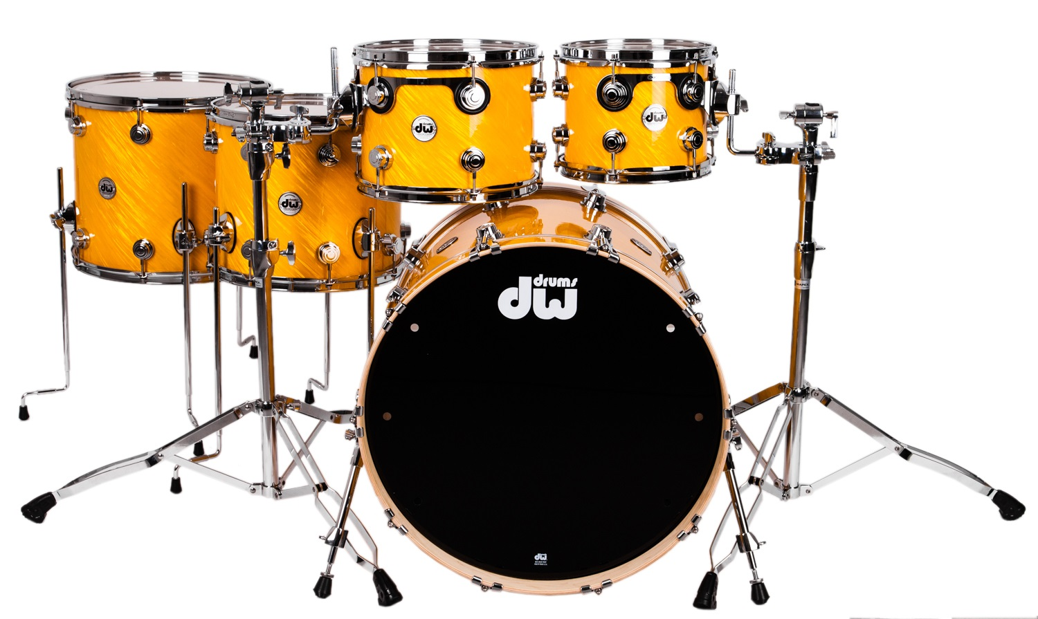DW Collector´s Series Fusion 2 set Twisted Yellow
