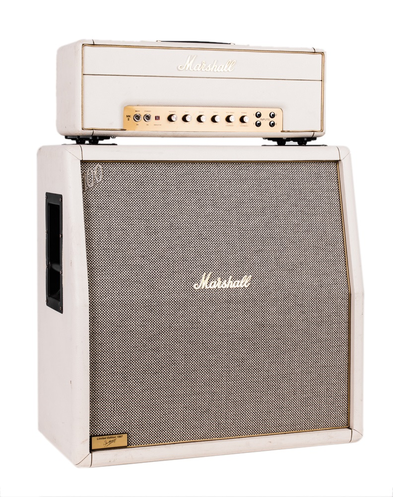 Marshall 1997 Marshall 1987x 35th Anniversary 50 Watt Tube Head Limited Edition White