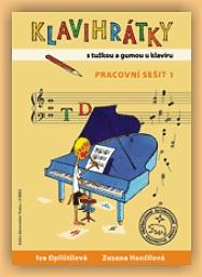KN Klavihrátky - s tužkou a gumou u klavíru - pracovní sešit 1