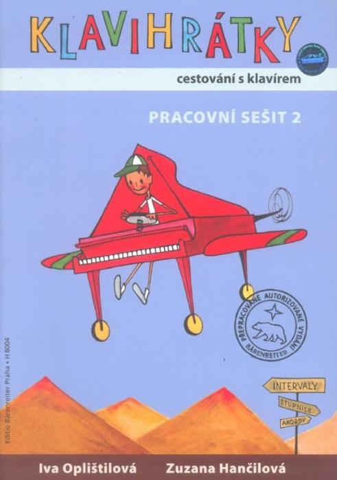 KN Klavihrátky - cestování s klavírem - pracovní sešit 2