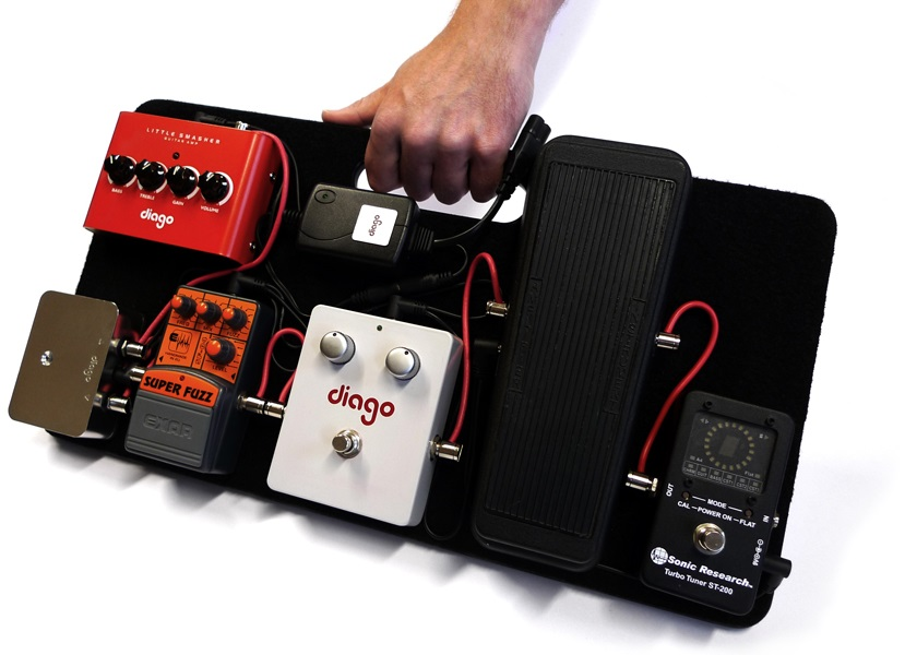 Fotografie Diago Commuter Soft Bag Pedal Board